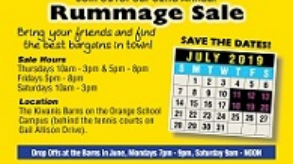 Kiwanis Club of Lander Circle 62nd Annual Rummage Sale