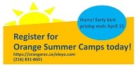 Register Now for Summer Camps & Save