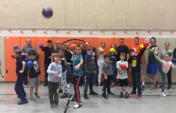 Get In The Game! Family Dodgeball is March 6