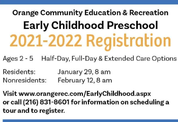 Preschool registration begins Jan 29