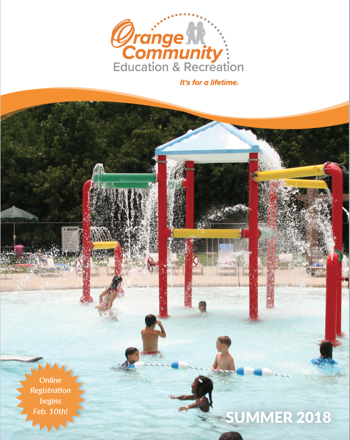 Summer Recreation Guide Cover