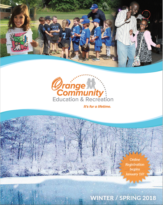 Winter Spring Recreation Guide Cover
