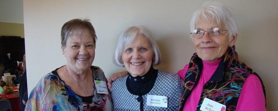 Ladies at Senior Center
